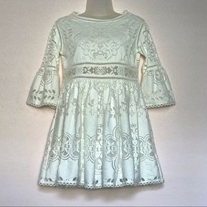 Spell & Gypsy Collective White Lace Clover Dress